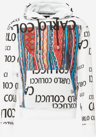 Bluză de molton Carlo Colucci pe mai multe culori / negru / alb, Vizualizare produs