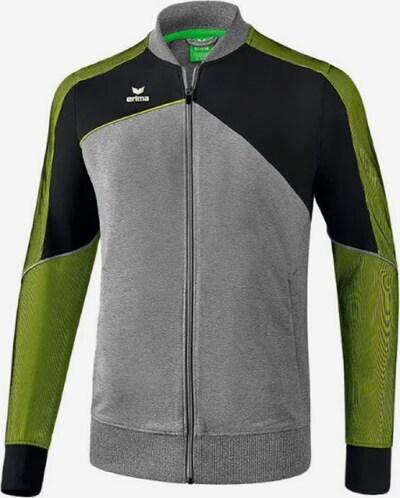 ERIMA Jacke in grau / limette / schwarz, Produktansicht