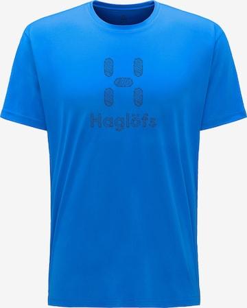 T-Shirt fonctionnel 'Glee' Haglöfs en bleu