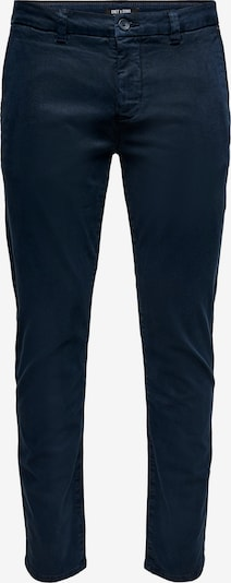 Only & Sons Hose 'Pete' in navy, Produktansicht