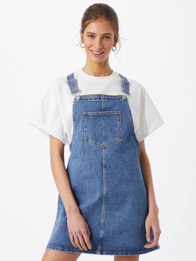 ABOUT YOU Laclová sukně 'Nia' - modrá džínovina, Model/ka