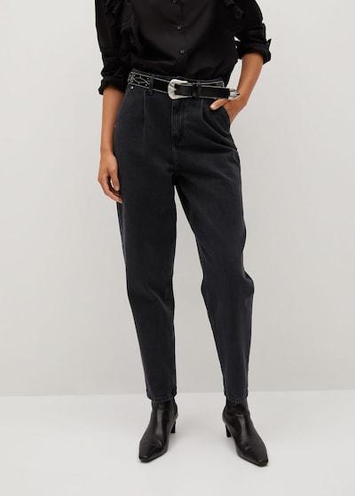 MANGO Džínsy 'Corinna' - čierny denim, Model/-ka