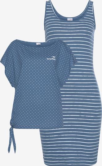 KangaROOS KangaROOS LM Jerseykleid in rauchblau, Produktansicht