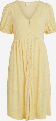 VILA Kleid 'Kathy' in Gelb