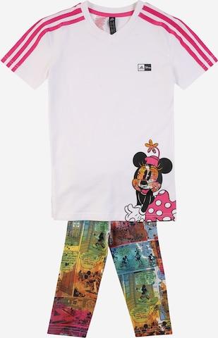 ADIDAS PERFORMANCE Träningsset 'Minnie Mouse' i vit