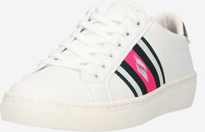 SKECHERS Niske tenisice u tamno zelena / roza / bijela, Pregled proizvoda
