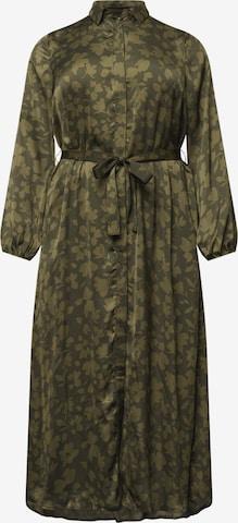 Robe-chemise 'Georgia' Guido Maria Kretschmer Curvy Collection en vert