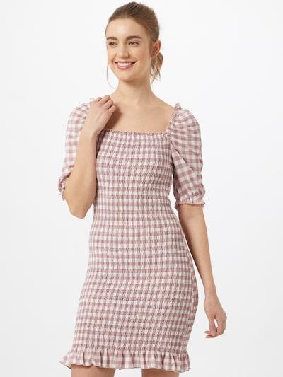 Gina Tricot Kleid 'Hanna' in pink / weiß, Modelansicht