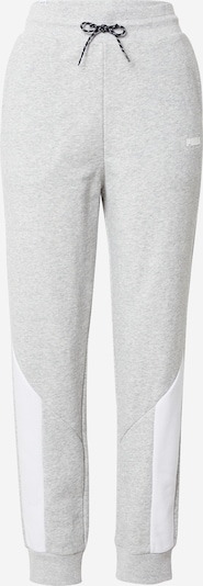 PUMA Sportovní kalhoty 'Rebel' - světle šedá / bílá, Produkt