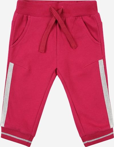 Pantaloni UNITED COLORS OF BENETTON pe roz / alb, Vizualizare produs