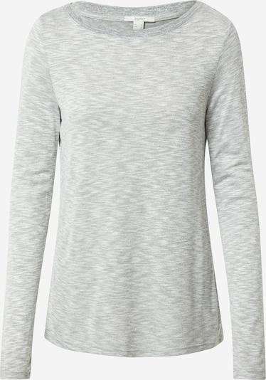 ESPRIT T-shirt 'Lurex' i gråmelerad, Produktvy