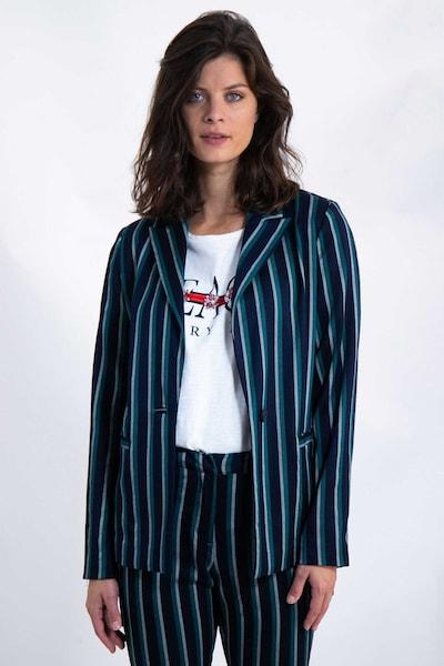 GARCIA Blazer in navy / grün / weiß, Modelansicht