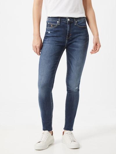 Calvin Klein Jeans Jeans i mørkeblå, Modelvisning