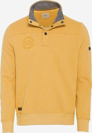 CAMEL ACTIVE Sweatshirt mit Stehkragen in gelb, Produktansicht