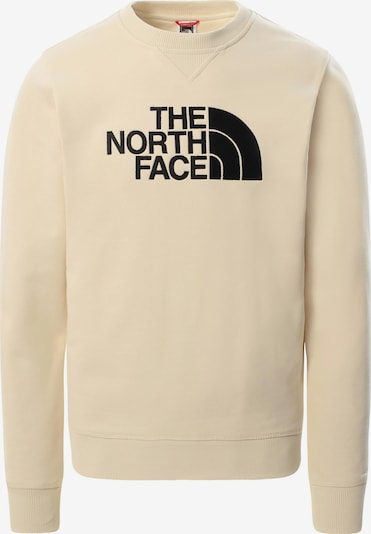THE NORTH FACE Sweatshirt 'Drew Peak' in beige / schwarz, Produktansicht