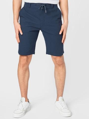 !Solid Chino-püksid 'Rio', värv sinine