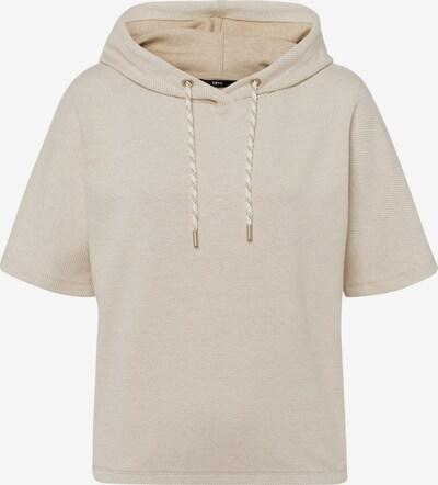 zero Sweatshirt in creme / sand, Produktansicht