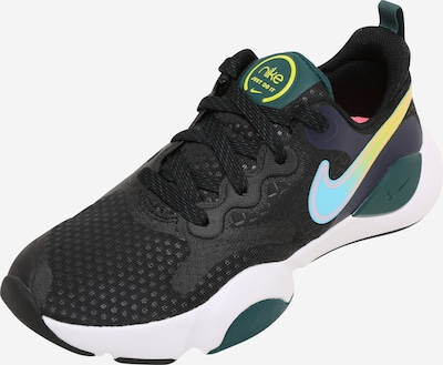 NIKE Sports shoe in light blue / neon yellow / dark green / black, Item view
