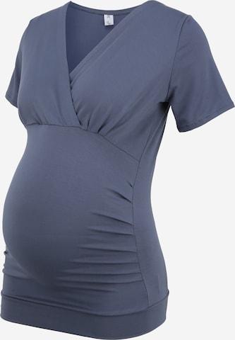 Tricou 'AMAL' de la Bebefield pe albastru