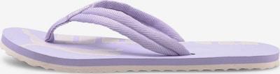 PUMA T-Bar Sandals 'Epic Flip v2' in Purple / White, Item view