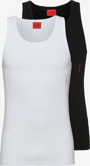 HUGO Potkošulja u crvena / crna / prljavo bijela, Pregled proizvoda