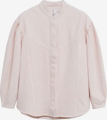MANGO Between-Season Jacket in Pink