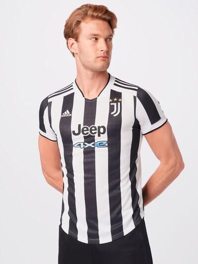 ADIDAS PERFORMANCE Trikot 'Juventus Turin' in schwarz / weiß: Frontalansicht