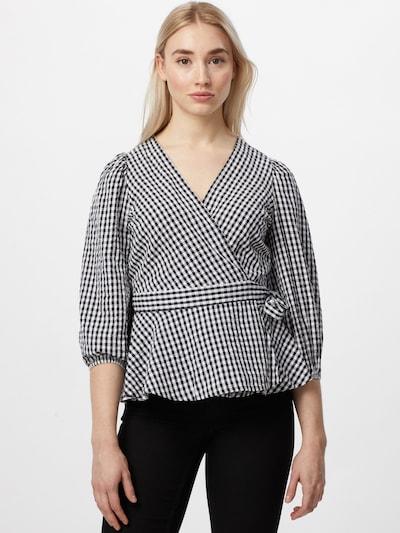 VERO MODA Bluza 'OLINE' u crna / bijela, Prikaz modela