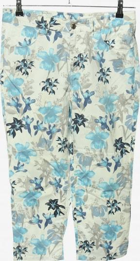 Top Secret 3/4 Jeans in 30-31 in creme / blau, Produktansicht