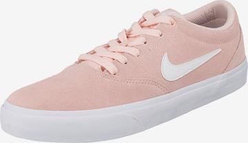 Nike SB Sneaker 'Nike SB Charge Suede' in Pink