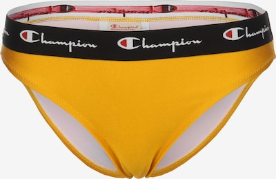 Champion Authentic Athletic Apparel Bikini Unterteil 'Sportswear' in gelb / rot / schwarz / weiß, Produktansicht