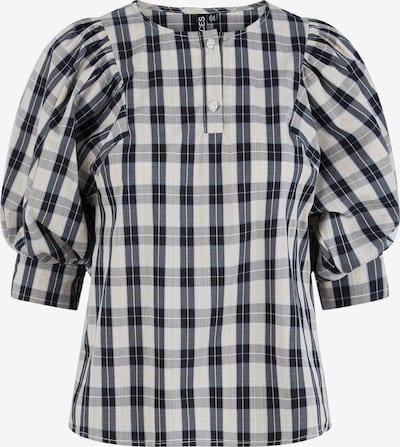 PIECES Blouse 'Elli' in Smoke blue / Grey / Light grey / Black, Item view