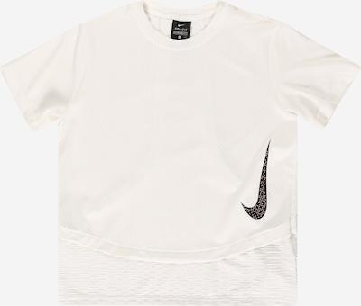 Tricou funcțional 'Instacool' NIKE pe negru / alb, Vizualizare produs