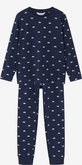 MANGO KIDS Pyjama 'Moto' in navy / weiß, Produktansicht