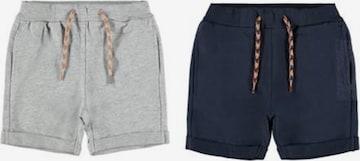 NAME IT Trousers 'NMMDIDRIK' in Grey