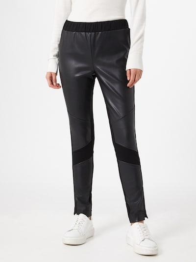 MORE & MORE Pantalon en noir, Vue avec modèle