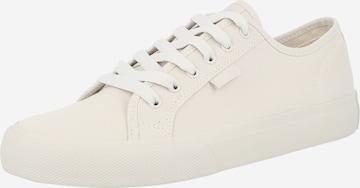 DC Shoes Sportssko 'MANUAL' i hvit