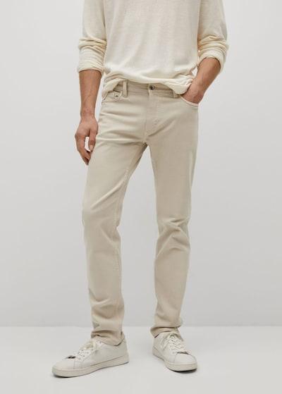MANGO MAN Jeans 'ibiza' in beige, Modelansicht
