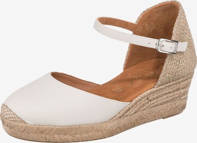 UNISA Sandale 'Cisca' in beige / offwhite, Produktansicht