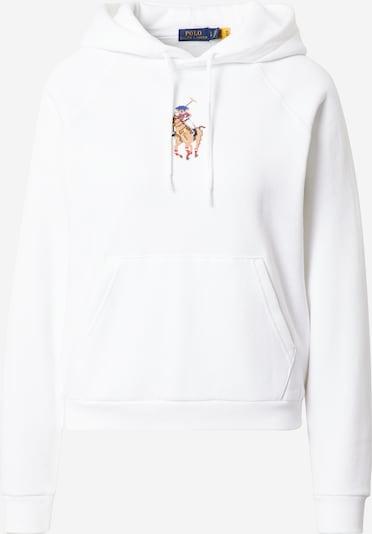 Polo Ralph Lauren Μπλούζα φούτερ σε μπλε ουρανού / καραμέλα / ανοικτό καφέ / κόκκινο / offwhite, Άποψη προϊόντος