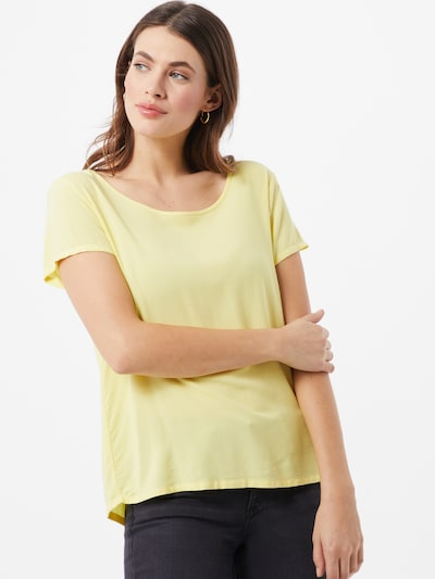 Sublevel Bluse in gelb, Modelansicht