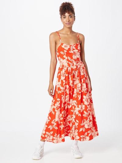 Free People Sommerkleid in creme / orange, Modelansicht