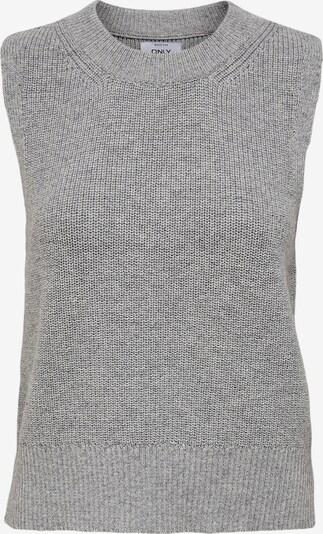 ONLY Pullover 'Paris' in graumeliert, Produktansicht
