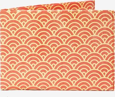 paprcuts Portemonnaie 'Halbkreise Orange' in mischfarben / orange, Produktansicht