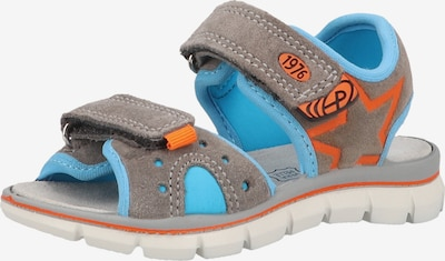 PRIMIGI Sandale in blau / grau / orange, Produktansicht