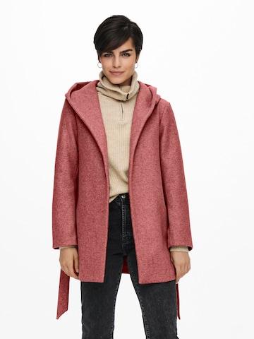 Manteau mi-saison 'Trillion' ONLY en rose