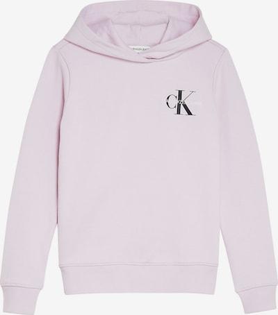 Calvin Klein Jeans Sweatshirt in rosa / schwarz / weiß, Produktansicht