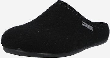 SHEPHERD Hausschuh 'CILLA' i svart