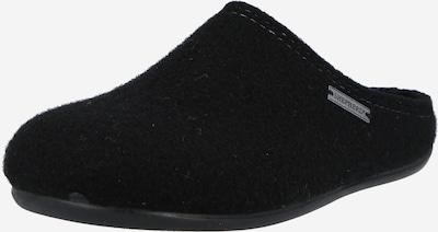 SHEPHERD Slippers 'CILLA' in Black: Frontal view