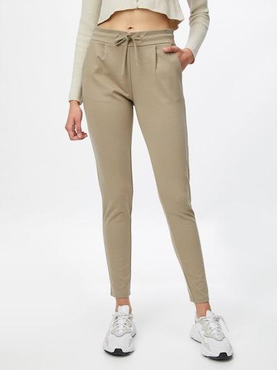 Pantaloni ICHI di colore marrone chiaro, Visualizzazione modelli